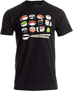 Happy Sushi | Funny, Cute Fun Japanese Food Go Rice Art for Men Women T-Shirt