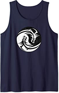 RPG Yin Yang Dragons | D20 Tabletop Role Playing Game Tank Top