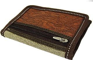 Mundkar Brown Artificial Leather 3 Fold Men's Wallet
