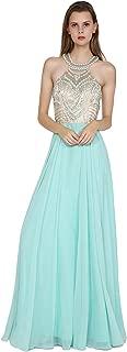 Best aqua beaded prom dress Reviews