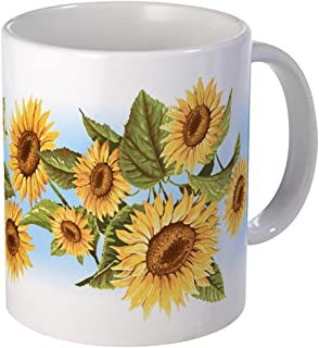 CafePress Sunflower Mug Unique Coffee Mug, Coffee Cup