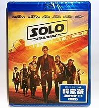 Solo: A Star Wars Story (Region Free Blu-ray) (Hong Kong version / English Language. Mandarin Dubbed) 韓索羅: 星球大戰外傳