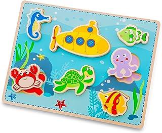 New Classic Toys – 10522 – hav pussel med stora delar