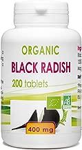 Organic Black radish 200 tablets 400 mg