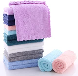 SWEET DOLPHIN 16 Pack Soft Kitchen Terry Dishcloths - 0% Shed Lint - No Odor Reusable Dish Towels, Premium Dish Cloths, Ab...
