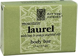 River Soap Co. Mountain Laurel Triple Milled All Vegetable 4.5 oz.