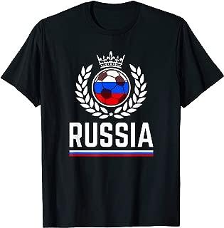 Russia Soccer Jersey 2019 Russian Football Team Fan Shirt