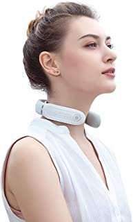 Neck Massager with Heat, SKG Pulse Neckrelax Massage Cordless with Voice Broadcast (English) for Office, Home, Travel, Adj...