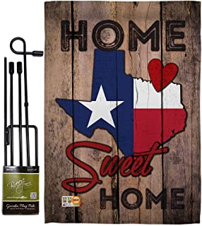 Ornament Collection GS191119-BO State Texas Home Sweet Americana States Impressions Decorative Vertical 13