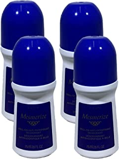Avon Set of 4 Mesmerize Deodorants