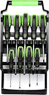 TOOLZILLA Professional 9 Piece Magnetic Screwdriver Set & Carry Case