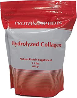The Doctor Within - HYDROLYZED Collagen - Best Source, Best Absorption Protein Peptides - 1.1 Pounds
