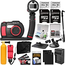 SeaLife DC2000 HD Underwater Digital Camera with Sea Dragon Flash Set + 2 64GB Cards + Batteries & Charger + Monopod + Suction Cup Mount + Buoy Kit