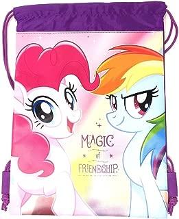 My Little Pony Wallet-Passport Bag- String Sling Tote Bag Backpack