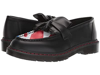 Dr. Martens Adrian WHO (Black the Who Union Jack Smooth) Shoes