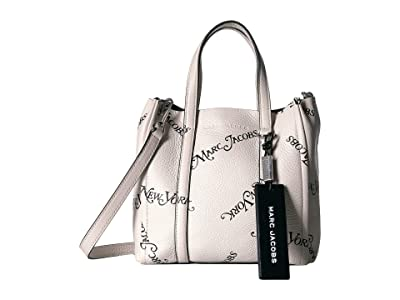 Marc Jacobs New York Magazine(r) x Marc Jacobs Mini Tag Tote (Porcelain) Handbags