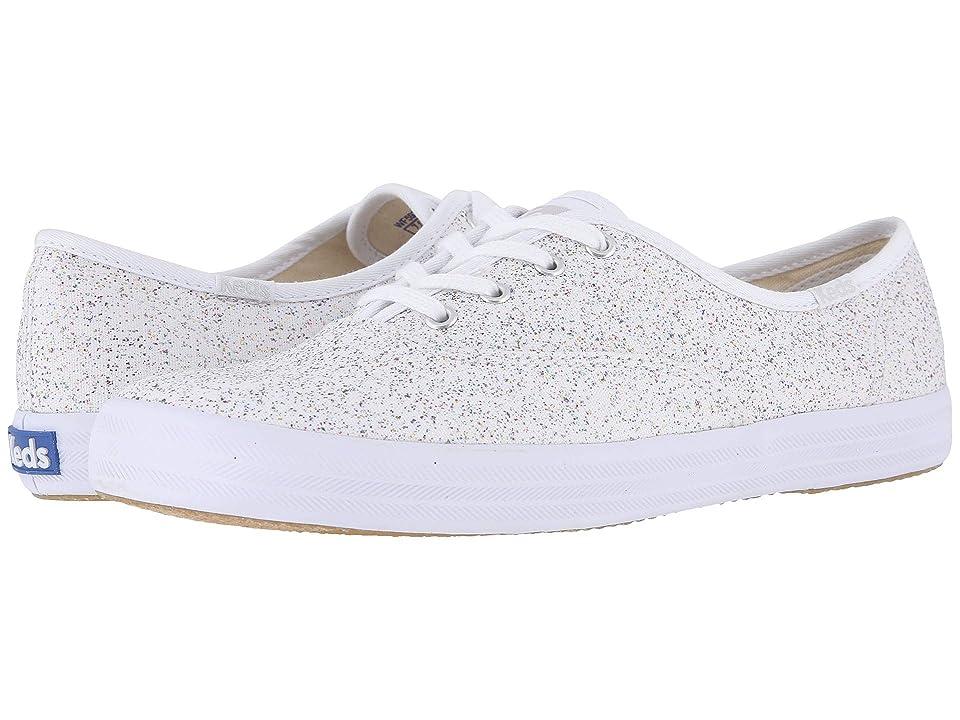 Keds Champion Starlight Canvas (White) Women's  Shoes