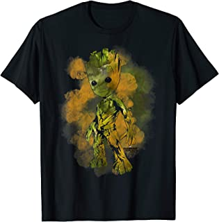 Groot Guardians of Galaxy 2 Smudge Graphic T-Shirt