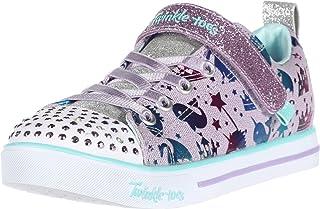 Skechers Unisex-Child Sparkle Lite-Princessland Sneaker