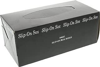 Disposable Slip On Socks 144 Pieces Beige