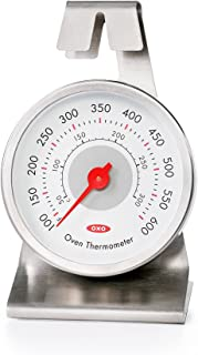 OXO 11133600 Good Grips Chef's Precision Oven Thermometer,Silver