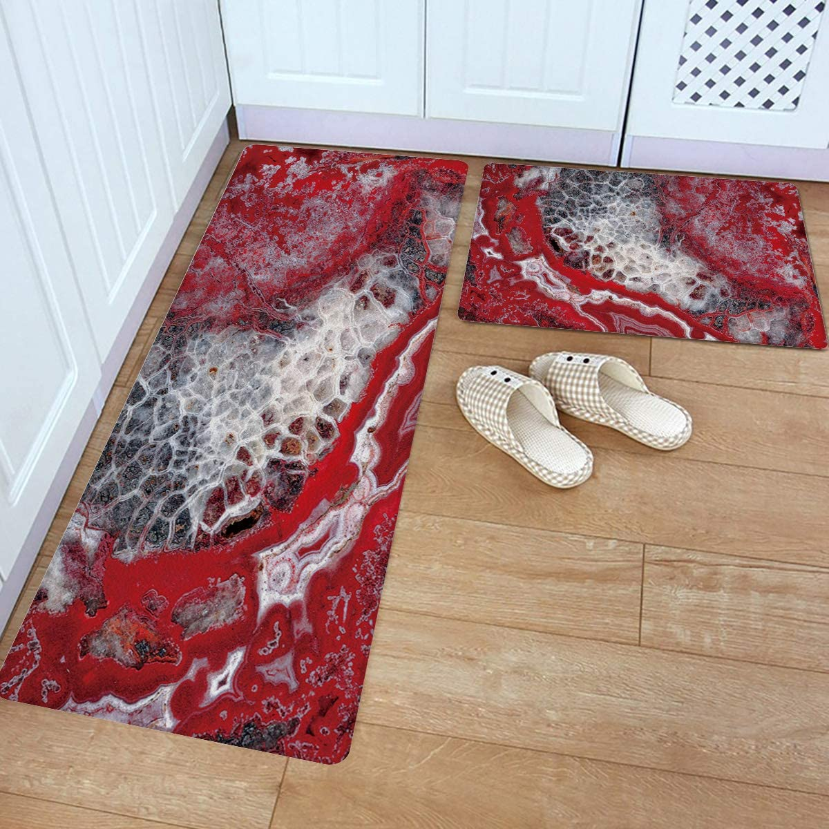 Anti Fatigue Kitchen wholesale Mat Set of Non Slip Thick 2 Long Beach Mall Kitch Cushioned