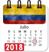 calendario 2018 con semanas