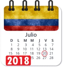 Calendario 2018 colombia con festivos semana santa