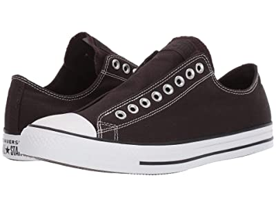 Converse Chuck Taylor All Star Slip-On Sneaker Slip (Velvet Brown/Black/White) Shoes