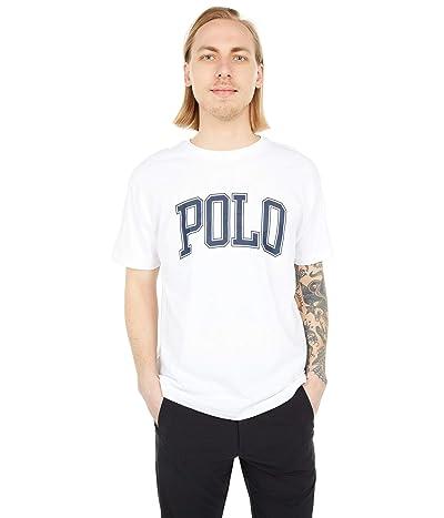 Polo Ralph Lauren Classic Fit Logo Jersey T-Shirt (White) Men