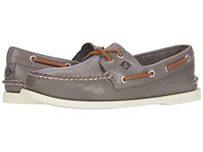 Sperry A/O 2-Eye Whisper (Grey) Men