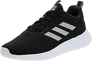 Adidas Lite Racer CLN Contrast Side Stripe Lace-Up Running Shoes for Kids