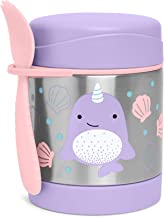 Skip Hop Insulated Food Jar Stainless Steel Baby Food Container, Narwhal