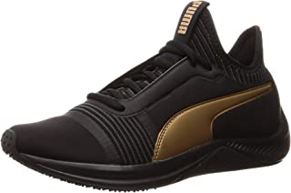 PUMA Women's Amp Xt WN's Blk-blk Shoes, Black Black