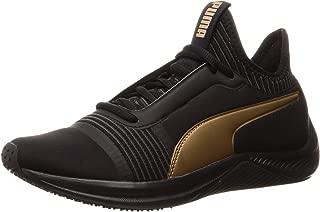 PUMA Women's Amp Xt WN's Blk-blk Shoes, Black Black
