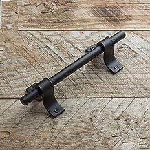 Handvatten robuuste metalen deurklinken strak, minimalistisch ontwerp Heavy Duty Barn deurklinken Ontworpen for gebruik bi...