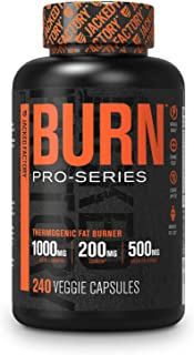 Pro-Series Burn Thermogenic Fat Burner - Competition-Grade Weight Loss Supplement, Energy Booster, Appetite Suppressant & ...