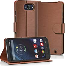VENA Motorola Droid Turbo Wallet Case [vSuit] Slim Fit Leather Case with Stand and Card..