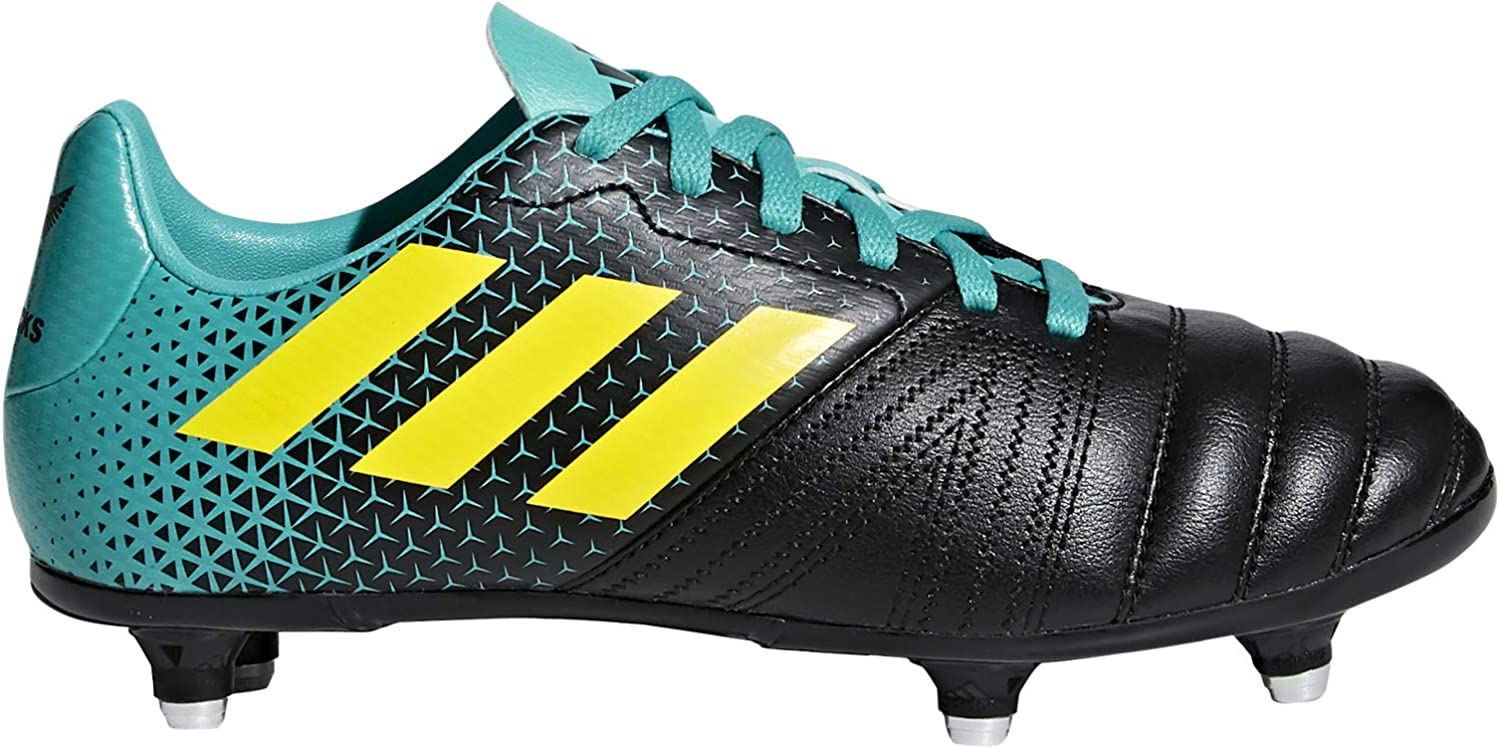 Adidas Unisex Kids' All Blacks (Sg) Rugby shoes