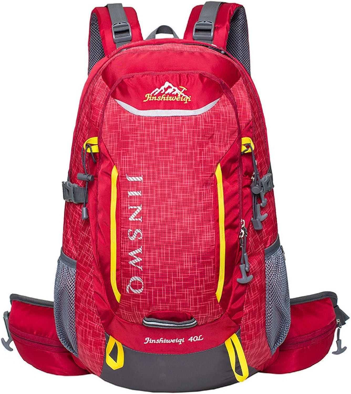 Groß Kapazität Bergsteigen Tasche Outdoor Wandern Rucksack Reisen Tasche Tasche Tasche Wasserdicht 40L B071VKY6XF  Rich-pünktliche Lieferung 1b2770