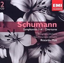 Schumann: Symphonies 1-4 & Overtures