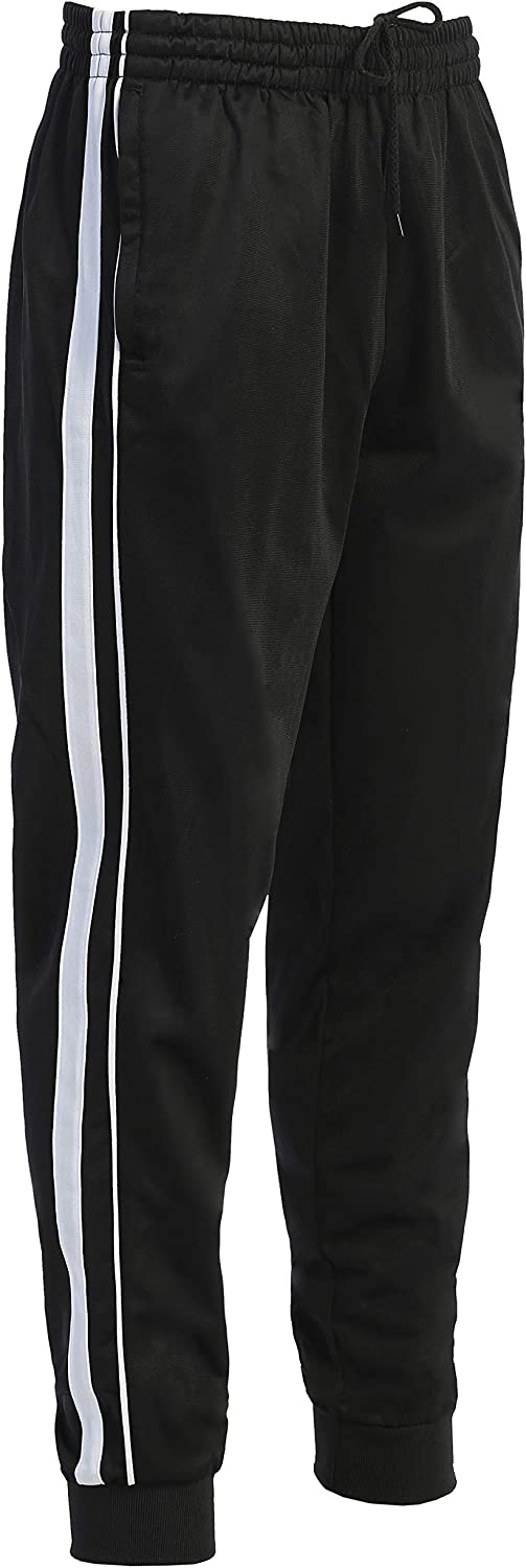 Gioberti Mens Max 85% Challenge the lowest price of Japan OFF Athletic Track Pants Leg Ribbed with Cuff
