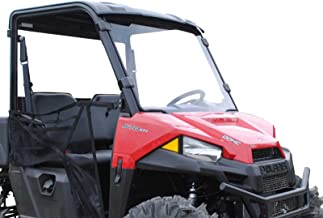 SuperATV Heavy Duty Full Windshield for Polaris Ranger Midsize 500/570 / ETX/EV (See Fitment for Compatible Years) - Installs in 5 Minutes!