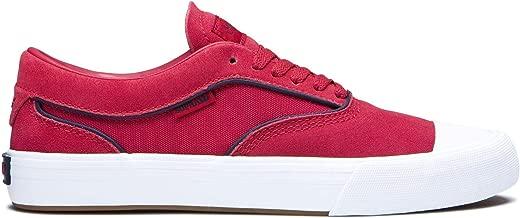 Supra Mens Hammer VTG Rose White Shoes Size
