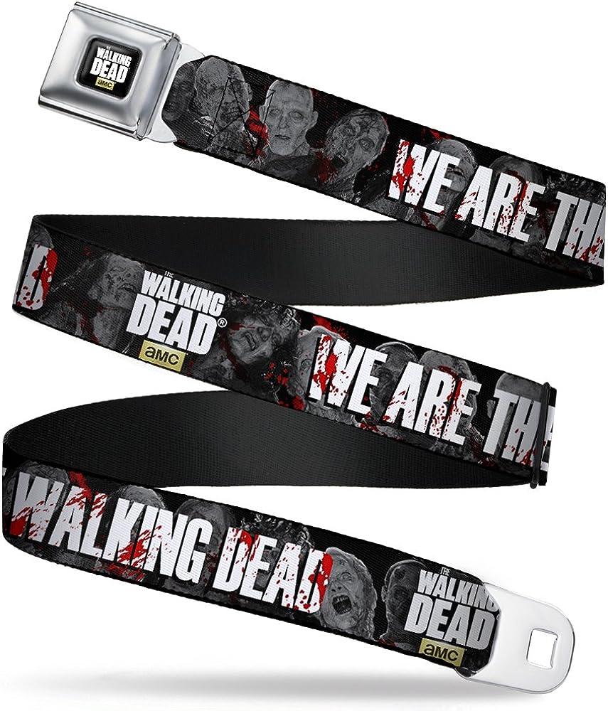 Buckle-Down Boys' We are The Walking Dead/Zombies Seatbelt Belt