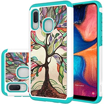 Amazon Com Hmtechus Case For Samsung A10e Luxury Shell Painting Tree Elegant Pu Leather Flip Folio Card Slot Wallet Kickstand Nootbook Magnetic Buckle Cover Skin For Samsung Galaxy A10e Painting Tree Bf
