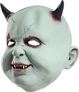 Halloween Zombie Head mask Scary Death Horror Grimace Ghost Bloody Masks