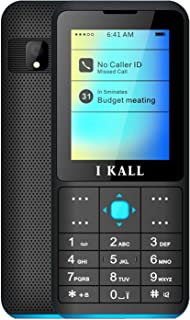 I KALL K111 Multimedia Mobile (Blue, 2.4 Inch, Dual Sim)