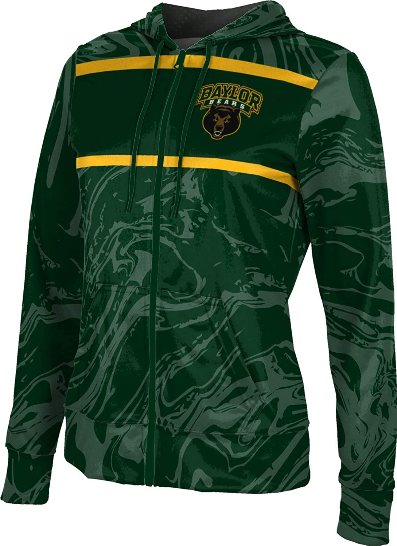 ProSphere Baylor University Girls' Zipper Hoodie, School Spirit Sweatshirt (Ripple)