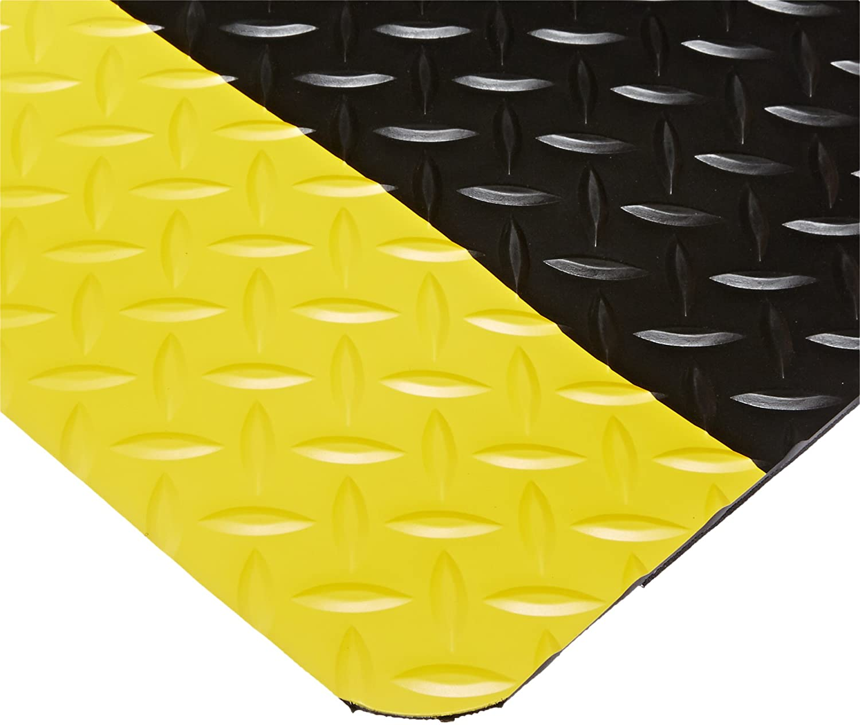 NoTrax 5% OFF 509 Diamond-Tuff Anti-Fatigue Ant-Slip Black Long Beach Mall X 5' 3' Mat